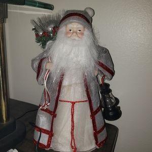 None Holiday - Christmas chair covers fiber optic SANTA CLAUS